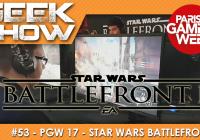 [PGW2017] On a testé et débriefé sur Star Wars Battefront 2 !