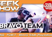 [PGW2017] On a testé Bravo Team le FPS en coop du Playstation VR