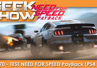 [TEST] Need For Speed Payback : une sortie de route ?