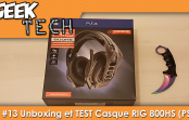 [TEST] Unboxing et Test du casque Plantronics RIG 800HS !