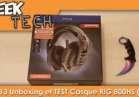 [TEST] Unboxing et Test du casque Plantronics RIG 800HS !