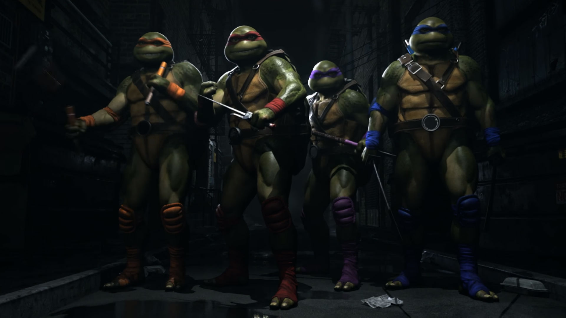 teenage mutant ninja turtles wallpaper for android