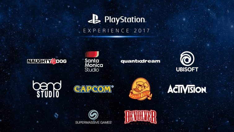 Playstation Experience 2017 Studios