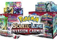 Pokémon : L'extension Soleil et Lune – Invasion Carmin est disponible