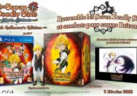 Une édition collector pour The Seven Deadly Sins: Knights of Britannia