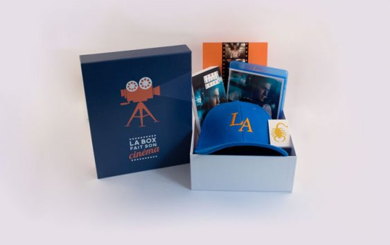 Idée cadeau de Noël : La Box Fait Son Cinema, la box des mordus de ciné
