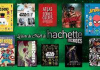 Les éditions Hachette Heroes dévoilent leur liste de Noël