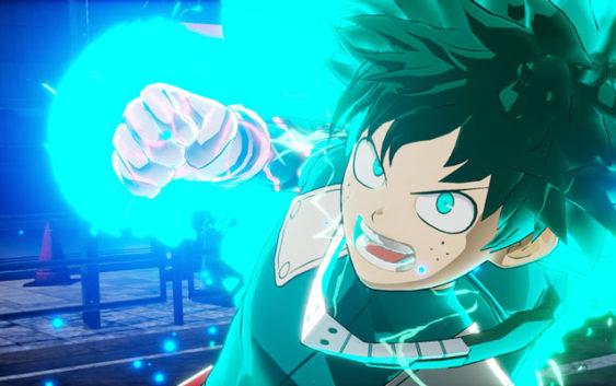 Un trailer pour My Hero Game Project, adaptation du manga My Hero Academia