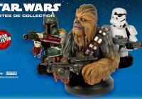 Star Wars : les éditions Altaya proposent des bustes collectors