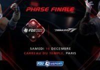 FDJ Masters League Tekken 7 à Paris le 16 décembre 2017