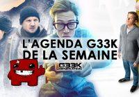 L'agenda Geek de la semaine (du 8 au 14 janvier 2018)