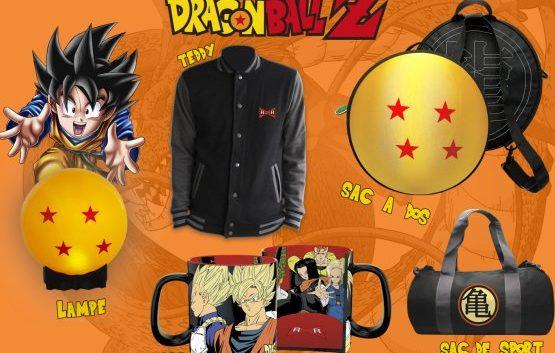 Dragon Ball : ABYstyle présente sa nouvelle collection de produits dérivés