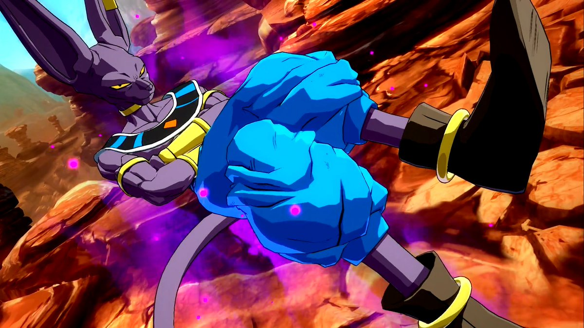 Dragon Ball FighterZ Beerus