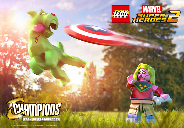 LEGO Marvel Super Heroes 2 Pack Champions