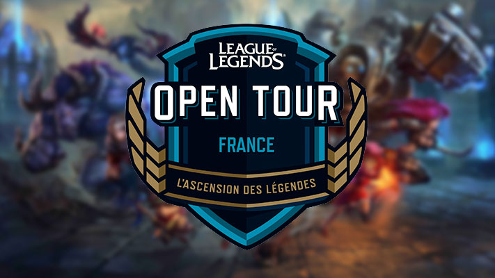 Riot Games - League of Legends - OpenTour France