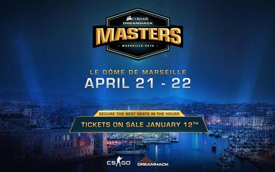 [eSport] Les DreamHack Masters CORSAIR débarquent à Marseille en 2018