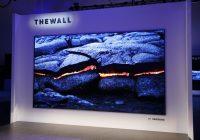 [CES 2018] «The Wall», l'écran 146″ microLED de Samsung !
