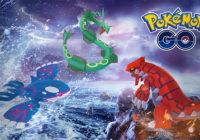 Pokémon GO : Groudon et Kyogre arrivent pour une Semaine Légendaire