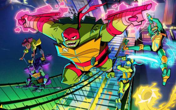 Rise of the Teenage Mutant Ninja Turtles : un nouveau design pour les tortues