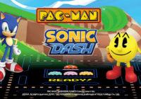 Pac-Man et Sonic pour la première fois réunis sur mobile