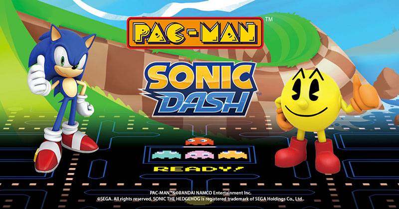 Sonic Dash Pac Man