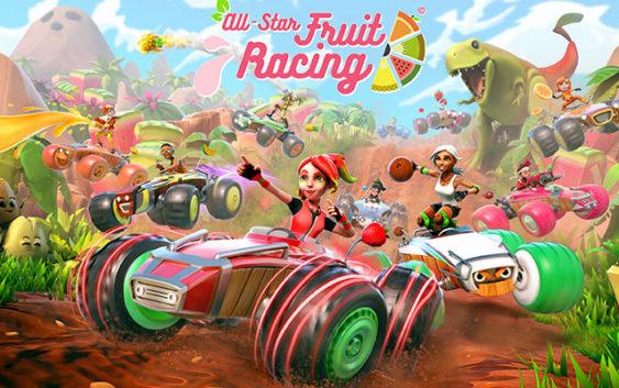 Un trailer de lancement pour All-Star Fruit Racing