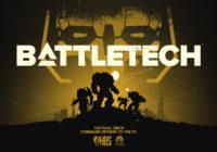 BATTLETECH : une date de sortie et un nouveau trailer