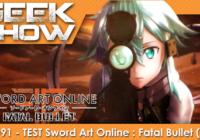 [TEST] Sword Art Online: Fatal Bullet, c'est «de la balle» ?