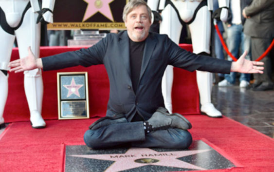 Star Wars : Mark Hamill a enfin droit à sa place à l'Hollywood Walk of Fame