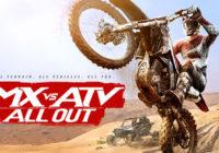Une bande annonce de lancement pour MX vs ATV All Out