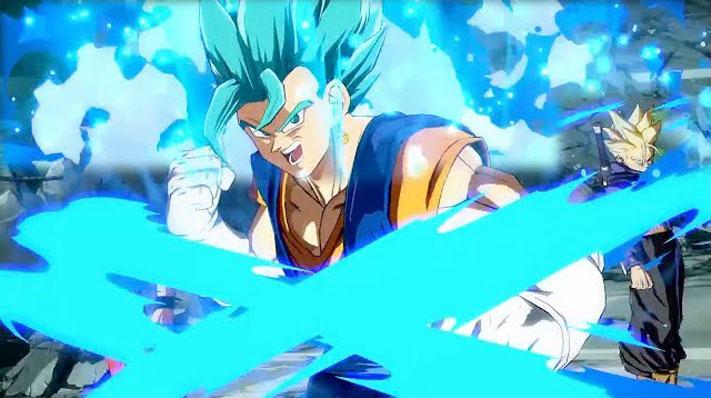 Dragon Ball FighterZ Super Saiyajin Blue Vegito
