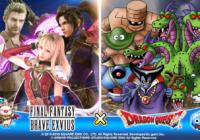 Final Fantasy Brave Exvius : les monstres légendaires de Dragon Quest débarquent !