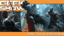 [TEST] GOD OF WAR, un Chef d'Oeuvre titanesque !