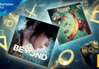PlayStation Plus : les jeux offerts du mois de mai 2018