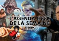 L'agenda Geek de la semaine (du 7 au 13 mai 2018)