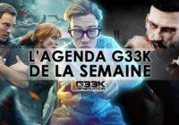 L'agenda Geek de la semaine (du 4 au 10 juin 2018)