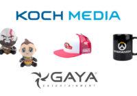 Koch Media France se lance dans le produit dérivé avec Gaya Entertainment