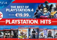 PlayStation Hits : une nouvelle gamme de jeux PS4 à 19,99€