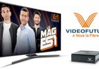 ES1 : la 1ère chaîne française Esport disponible dans l'offre Fibre de VIDEOFUTUR