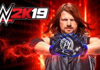 WWE 2K19 : 2K annonce AJ Styles sur la jaquette et Million Dollar Challenge