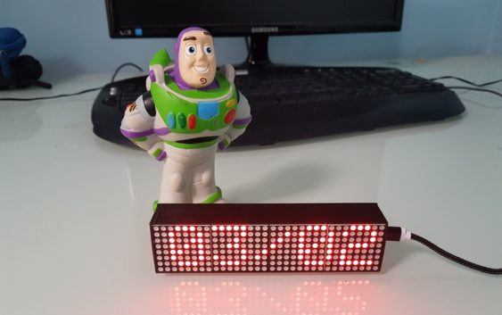 Le Smart Led Messenger, un afficheur connecté pour votre quotidien !