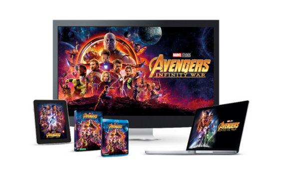 Avengers : Infinity War sera disponible le 31 août prochain en DVD et Blu-Ray