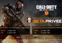 Call of Duty : Black Ops 4 dévoilé ses dates de Betas Privées