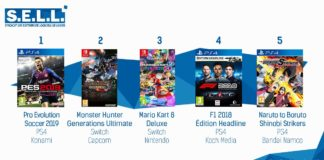 Top Ventes Jeux Video Semaine 35 2018
