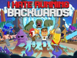 I Hate Running Backwards - Switch Key Art