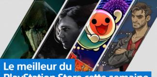 PlayStation Store - Mise à jour 29 octobre 2018