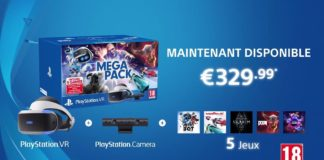 PlayStation VR Méga Pack cover