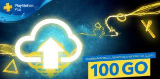 PlayStation Plus - Stockage 100Go sur le cloud