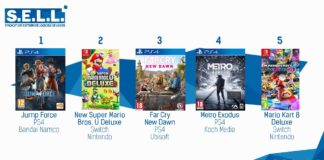 TOP Ventes Jeux Video sem 7 2019