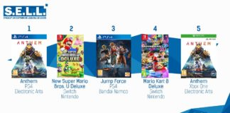 TOP VENTES Jeux Video Sem 8 2019